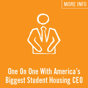 One on One with David Adelman, CEO of Campus Apartments
